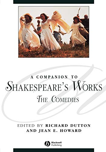 9781405136075: Companion Shakespeare s Works V3 P: Comedies v. 3 (Blackwell Companions to Literature and Culture)