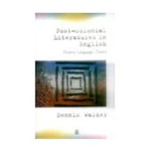 9781405136341: Post-Colonial Literatures in English