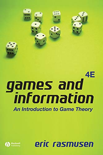 9781405136662: Games and Information: An Introduction to Game Theory