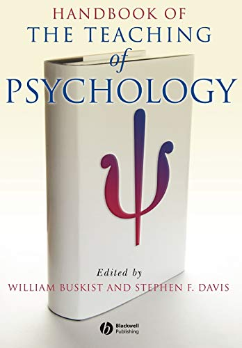 9781405138017: Handbook of the Teaching of Psychology