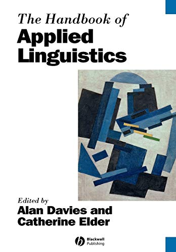 9781405138093: The Handbook of Applied Linguistics