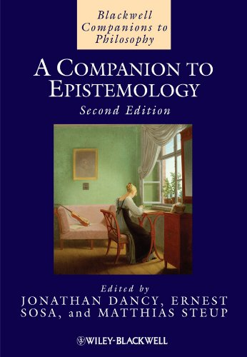 9781405139007: A Companion to Epistemology (Blackwell Companions to Philosophy)