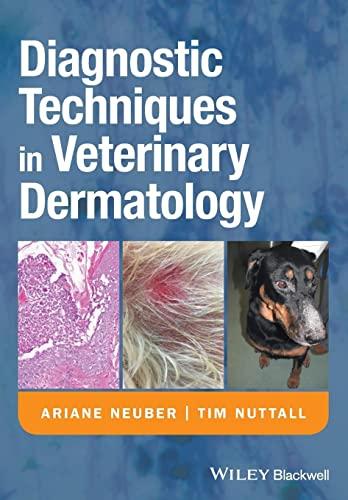 9781405139489: Diagnostic Techniques in Veterinary Dermatology
