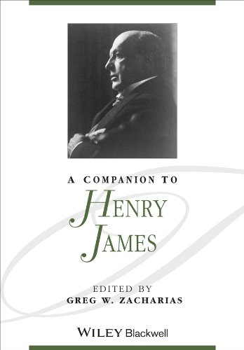 9781405140423: A Companion to Henry James (Blackwell Companions to Literature and Culture)