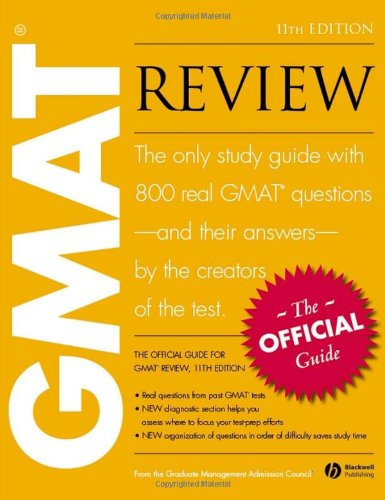 9781405141765: The Official Guide for Gmat Review