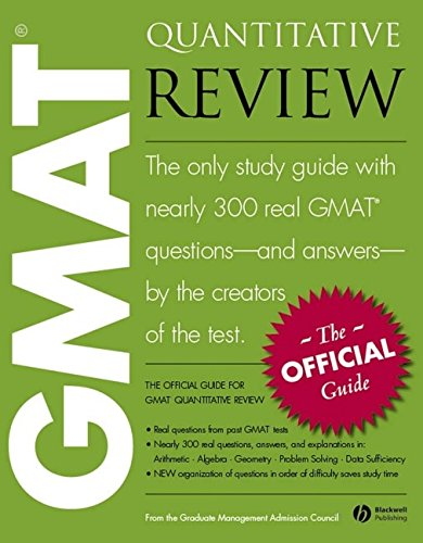 The Offical Guide for GMAT Quantitative Review: Graduate Management Admission