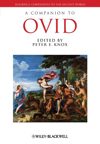 9781405141833: A Companion to Ovid