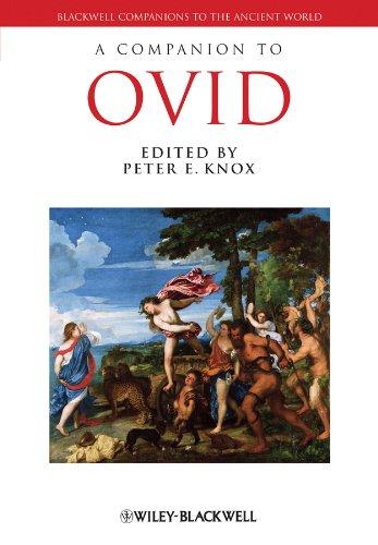 9781405141833: A Companion to Ovid