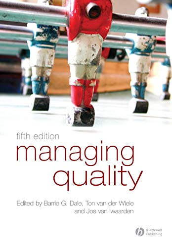 9781405142793: Managing Quality