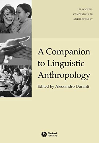 9781405144308: A Companion to Linguistic Anthropology