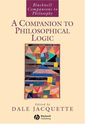 9781405145756: A Companion to Philosophical Logic
