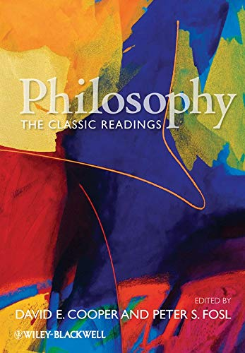 9781405145862: Philosophy: The Classic Readings