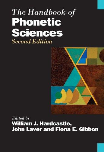 9781405145909: The Handbook of Phonetic Sciences