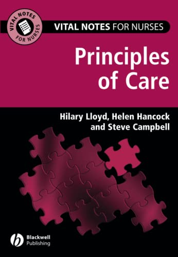9781405145985: Vital Notes for Nurses: Principles of Care