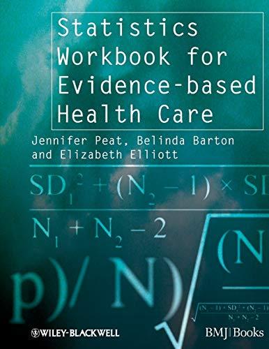 9781405146449: Statistics Workbook for Evidence-based Health Care (Evidence–Based Medicine)