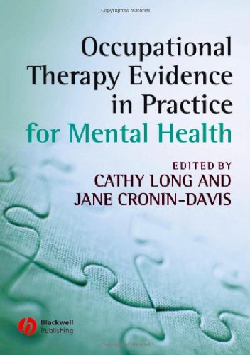 9781405146661: Occupational Therapy Evidence in Practice for Mental Health