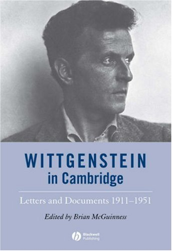 9781405147019: Wittgenstein in Cambridge: Letters and Documents 1911-1951