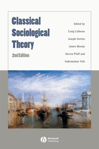 9781405148535: Classical Sociological Theory