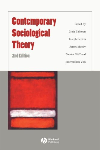 9781405148559: Contemporary Sociological Theory