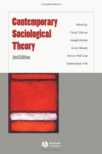 9781405148566: Contemporary Sociological Theory