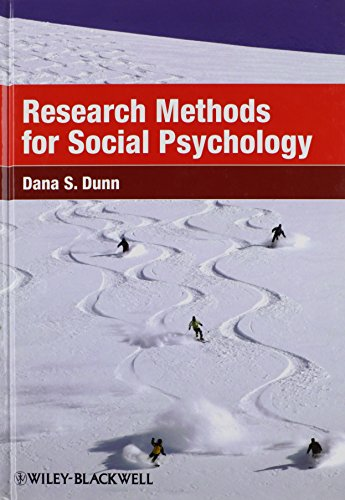 9781405149808: Research Methods for Social Psychology