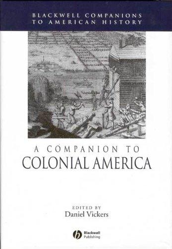 9781405149853: A Companion to Colonial America
