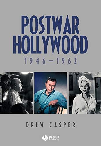 9781405150750: Postwar Hollywood: 1946-1962