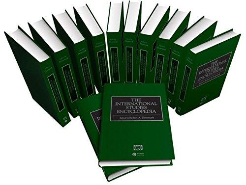 9781405152389: The International Studies Encyclopedia, 12 Volume Set