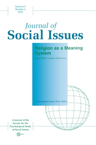 9781405152648: Religion as a Meaning System (Volume 61)