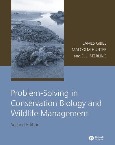 9781405152877: Problem-Solving in Conservation Biology and Wildlife Management