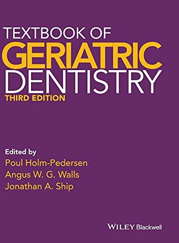 9781405153645: Textbook of Geriatric Dentistry