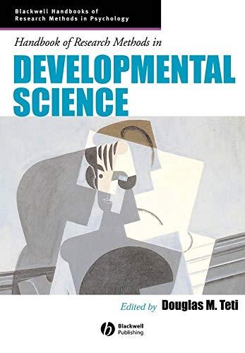 9781405153959: Handbook of Research Methods in Developmental Science