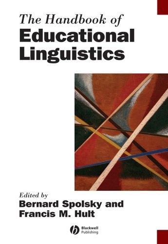 9781405154109: The Handbook of Educational Linguistics