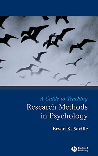 9781405154802: A Guide to Teaching Research Methods in Psychology (Teaching Psychological Science)
