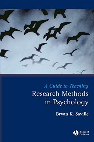 9781405154819: A Guide to Teaching Research Methods in Psychology