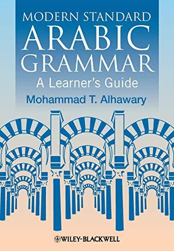 9781405155021: Modern Standard Arabic Grammar: A Learner's Guide