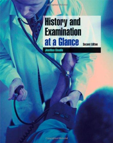 9781405155182: History and Examination at a Glance