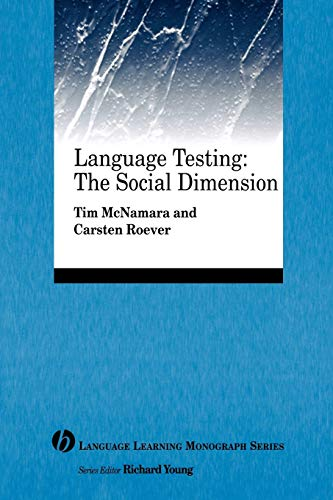 9781405155434: Language Testing: The Social Dimension