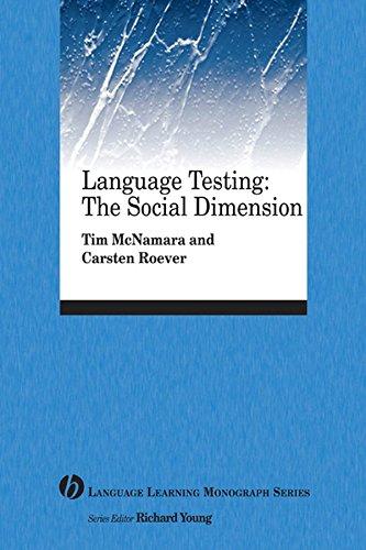 9781405155434: Language Testing: The Social Dimension
