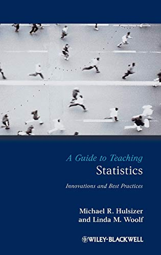 9781405155731: A Guide to Teaching Statistics: Innovations and Best Practices