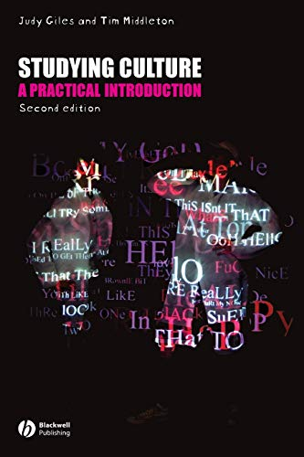9781405155922: Studying Culture: A practical Introduction
