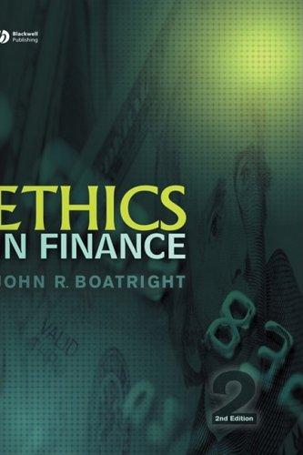 9781405155991: Ethics in Finance