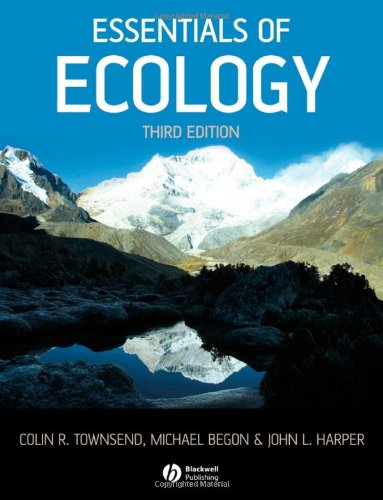 9781405156585: Essentials of Ecology