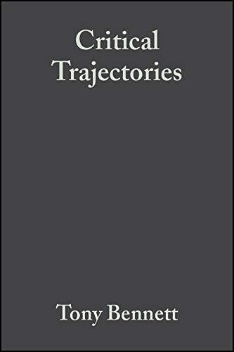 9781405156998: Critical Trajectories: Culture, Society, Intellectuals