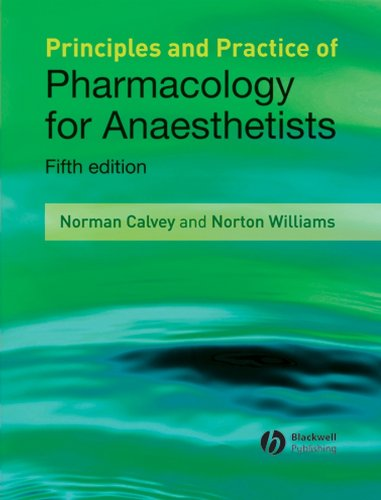 9781405157278: Principles and Practice of Pharmacology for Anaesthetists