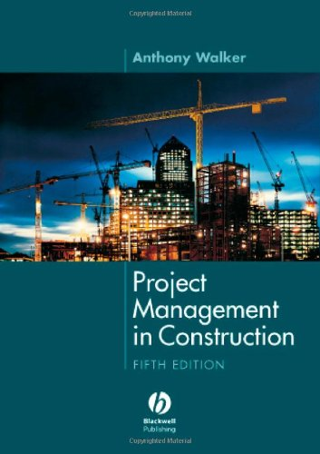 9781405158244: Project Management in Construction