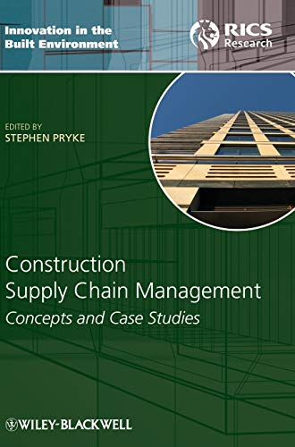 9781405158442: Construction Supply Chain Management: Concepts and Case Studies