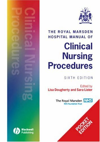 9781405158466: The Royal Marsden Hospital Manual of Clinical Nursing Procedures