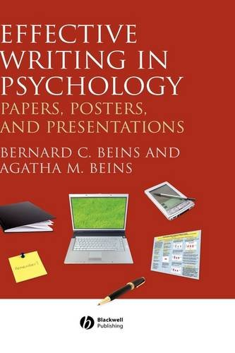 9781405158787: Effective Writing in Psychology: Papers, Posters, and Presentations