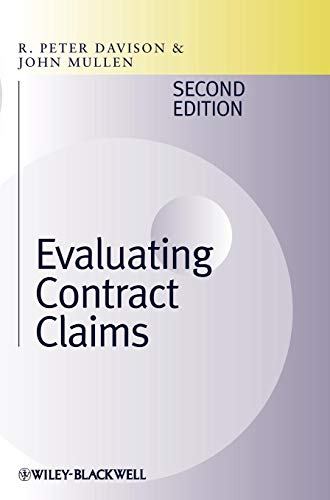 9781405159203: Evaluating Contract Claims